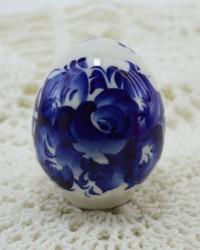 Яйцо пасхальное ХВ, гжель, арт. 3565