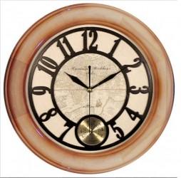 Часы настенные с термометром 7028АКТ d32см., арт. 3623