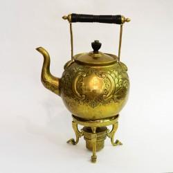 """Чайник с горелкой """"Объемный рисунок"""". Бульотка. арт. 3639"""