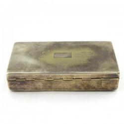 """Сигаретница (сигарочница) """"Аристократ"""" серебрение EPNS, арт. 3668"""