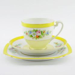 """Чайное трио """"Нежность"""" желтая, арт. 3688/2"""