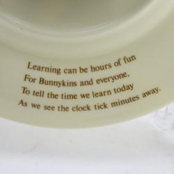 """Часы - тарелка """"BANNYKINS"""" 20,5см, арт. 3695"""