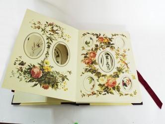 """Альбом для фото викторианский стиль """"Цветы, ботаника"""", арт. 3720/2"""