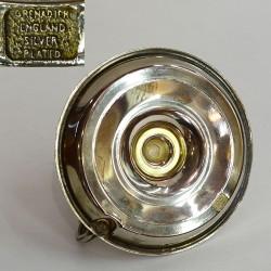 """Подсвечник """"Кабинетный"""" серебрение, арт. 3743"""