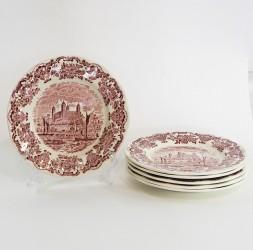 "Тарелка 6шт, 20см. ""Royal homes of Britain"",  арт. 3746"
