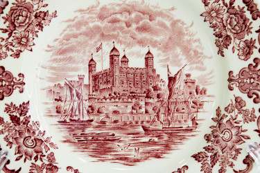 "Тарелка 2шт,,17,5см. ""Royal homes of Britain"",  арт. 3747"