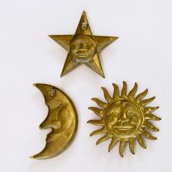 """Панно """"Солнце, месяц и звезда"""", арт. 3776"""