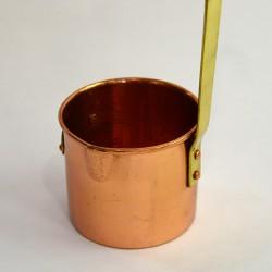 Медный мерный стакан, 0,25л., арт. 3782