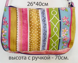 "Сумка хлопковая ""Птичка"", арт. 3788"