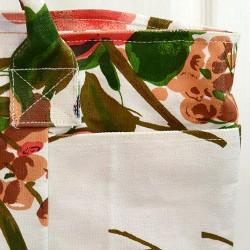 """Сумка хлопковая """"Цветы"""", арт. 3791/1"""
