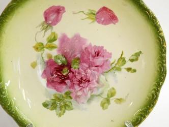 """Тарелка """"Розы"""" 23,8см., арт.3828"""