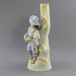"""Статуэтка - ваза """"Мальчик с мандолиной"""" 25,5см , арт. 3874"""