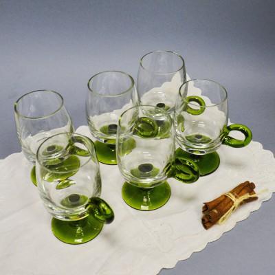 Набор бокалов с ручкой для глинтвейна, арт. 3887
