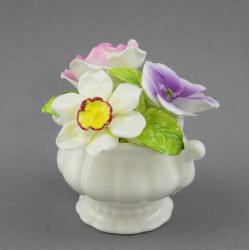 """Статуэтка """"Фарфоровые цветы"""" 7,5см, арт. 3908"""