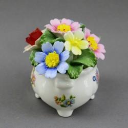 """Статуэтка """"Фарфоровые цветы"""" 7см. арт. 3909/2"""