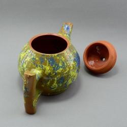 """Керамический чайник """"Хаки. Зеленый"""", арт. 3917"""