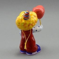 """Фигурка - елочная игрушка """"Клоун с шариком"""" майолика, арт. 3950"""