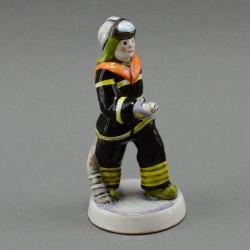 """Фигурка """"Профессия Пожарный"""" майолика, арт. 3961"""