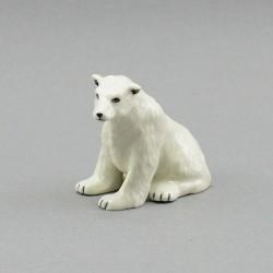 """Фигура миниатюра """"Белый медведь"""", арт. 3983"""