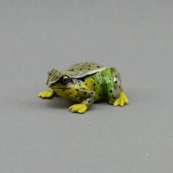 "Фигура миниатюра ""Лягушка зелено-коричневая"", арт. 4006"