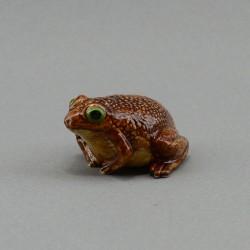 """Фигура миниатюра """"Лягушка. Жаба"""" коричневая, арт. 4009"""