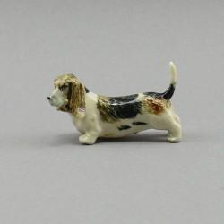 """Фигура миниатюра """"Собака бассет"""", арт. 4029"""