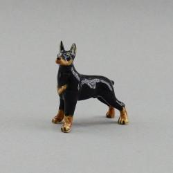 """Фигура миниатюра """"Собака. Доберман"""", арт. 4032"""