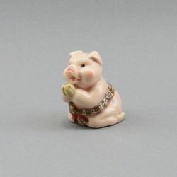 """Фигура миниатюра """"Поросенок. Свинья с поясом"""", арт. 4037"""