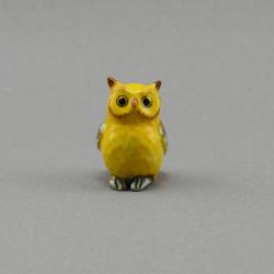 "Фигура миниатюра ""Сова желтая"", арт. 4044"