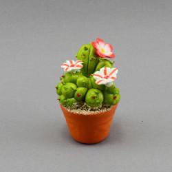 "Фигура миниатюра  ""Цветок. Кактус"" в ассорт. 7см., арт. 4048"