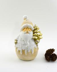 """Фигура """"Дед Мороз с елкой"""" 21см., арт. 4095"""