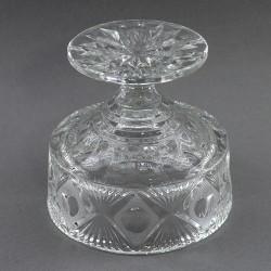 Хрустальная ваза для стола - конфетница на ножке, арт. 4128
