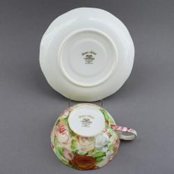 """Чайная пара """"Чайная роза"""" , арт. 4138"""