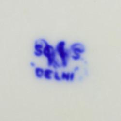 """Тарелка """"Ваза с цветами"""" 22,4см, арт. 4172"""
