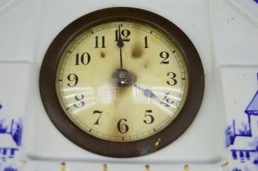 """Часы каминные механические """"Пейзаж"""" арт. 4791"""