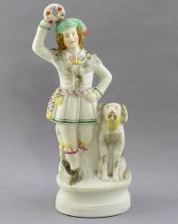 "Статуэтка ""Мужчина с собакой"", арт. 4212"