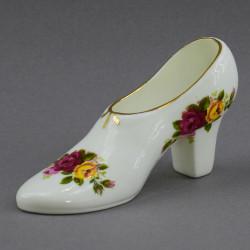 "Статуэтка туфелька ""Розы"" арт. 4252"