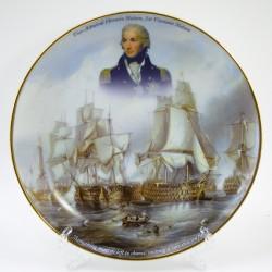 """Тарелка """"Вице-Адмирал Нельсон. Парусник"""", арт. 4268"""