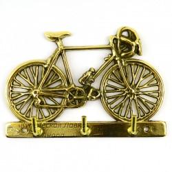 "Вешалка ""Велосипед"" 12*8см, 3 крючка, арт. 4316"