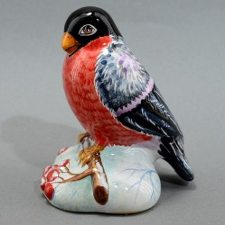 "Фигурка птица ""Снегирь"" майолика, арт. 4469"