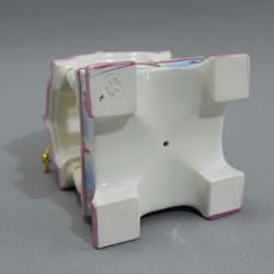 "Фигурка елочная игрушка ""Белка в тереме"" майолика, арт. 4493"