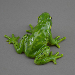 """Фигура миниатюра """"Лягушка древесная зеленая"""", арт. 4558"""