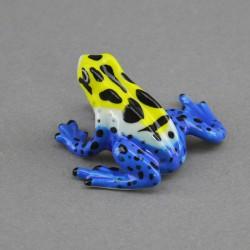 """Фигура миниатюра """"Лягушка желто-синяя"""", арт. 4566"""