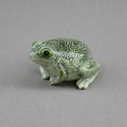 """Фигура миниатюра """"Лягушка жаба в крапинку серая"""", арт. 4567"""
