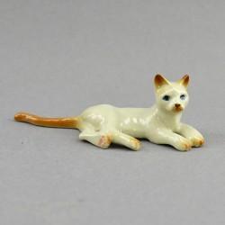 """Фигура миниатюра """"Кошка лежит"""", арт. 4579"""