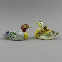 """Фигура миниатюра пара """"Утки американские с утятами"""", арт. 4586"""