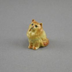 """Фигура миниатюра """"Кошка сибирская коричневая"""", арт. 4587"""