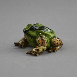 "Фигура миниатюра ""Лягушка жаба полосатая"", арт. 4588"