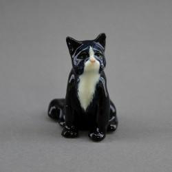 "Фигура миниатюра ""Кошка сидячая черная"", арт. 4590"