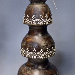 Подсвечники пара на 1 большую свечу, арт. 4605